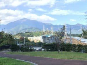 丸山城からの展望