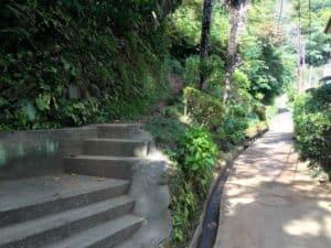 明王院脇登山口