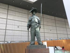 太田道灌の銅像