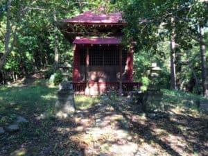 浄福寺城の観音堂