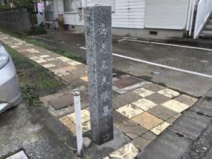 海老名氏霊堂の入口