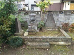 海老名氏館跡記念碑