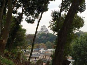 男山から望む姫路城