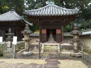 書写山の本多家墓所