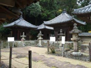 書写山円教寺の本多家墓所