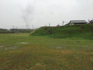 赤穂城の土塁