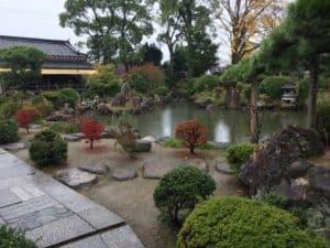 大石内蔵助屋敷の庭園
