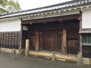 大石内蔵助屋敷門