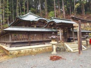 高野山の徳川家霊台