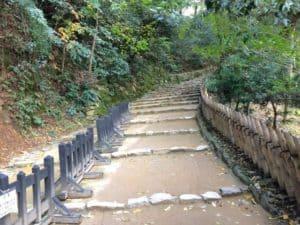 彦根城・表門参道