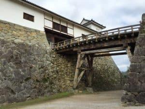彦根城の天秤櫓と掛橋