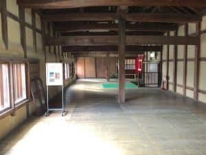 彦根城・天秤櫓の内部