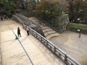 彦根城の掛橋
