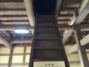 彦根城天秤櫓の階段