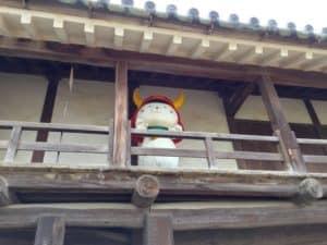 彦根城の太鼓門裏