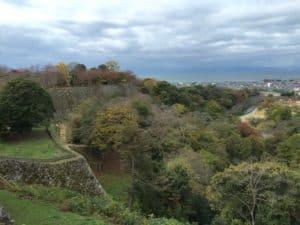 彦根城からの展望