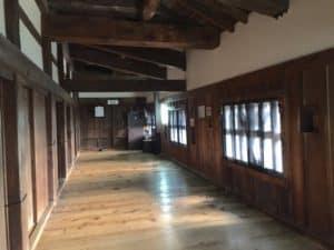 彦根城の内部
