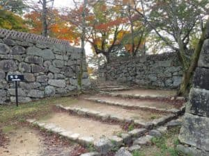 彦根城の西の丸入口