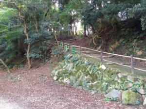 彦根城の山崎郭側