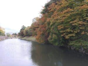 彦根城の中堀