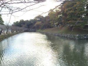 彦根城の内堀