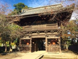 勝願寺の山門
