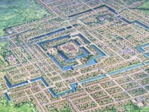 米沢城の城下町