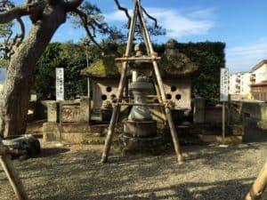 直江兼続の墓とお船の方の墓