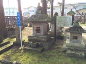 お豊の方の墓