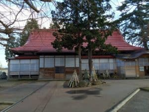 長命寺の本堂