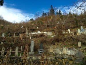 志田修理義秀の墓