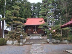 上山城の月岡神社
