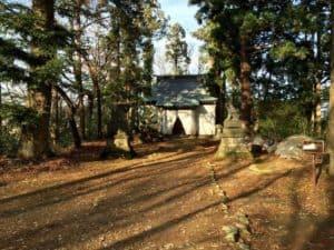 長谷堂城の八幡神社