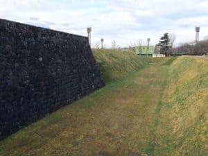 山形城の内堀