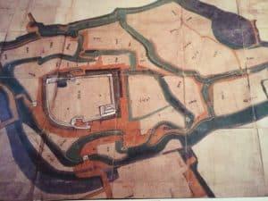 白石城の絵地図