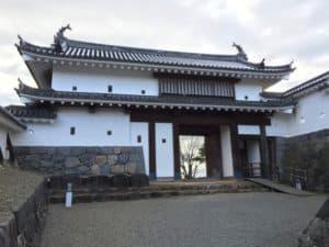 白石城の大手門