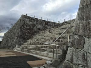 二本松城の本丸石垣