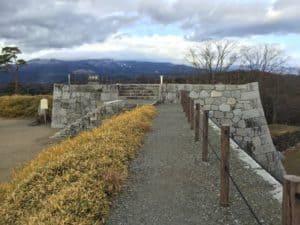 二本松城の本丸