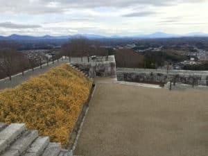 二本松城・本丸
