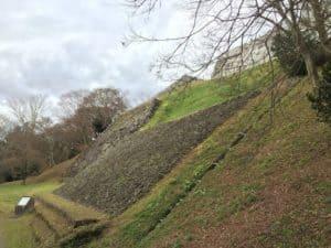 二本松城の大石垣
