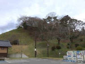 二本松城の麓