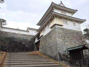 二本松城の箕輪門
