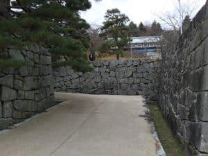 二本松城の桝形