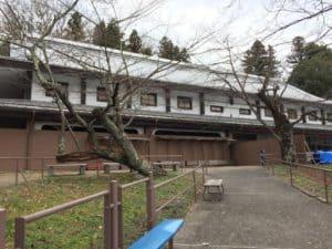 二本松城の本坂御殿跡