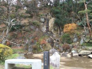 二本松城の庭園