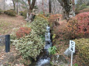 二本松城の霞ヶ滝