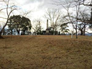 大森城の本丸