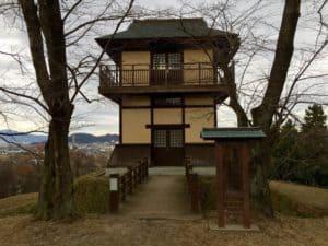 大森城の模擬櫓