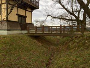 大森城の空堀