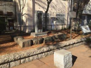 沼津城跡の石碑